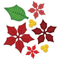 Poinsettia svg #3, Download drawings