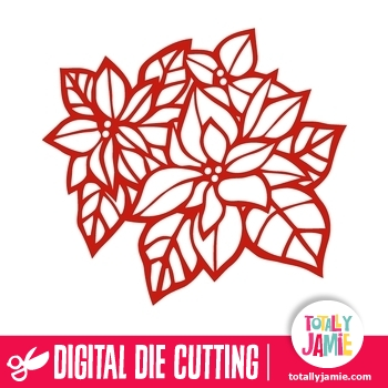 Poinsettia svg #4, Download drawings