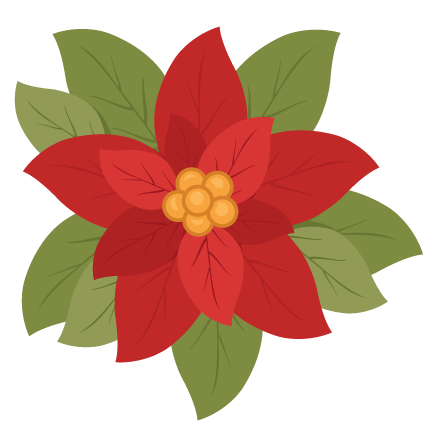 Poinsettia svg #5, Download drawings