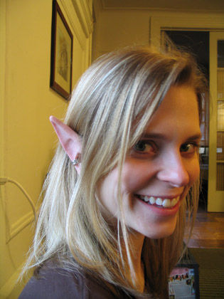 Pointed Ears coloring #1, Download drawings