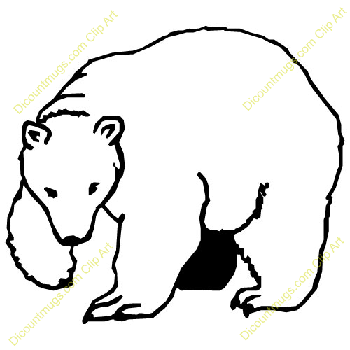 Polar  Bear clipart #2, Download drawings
