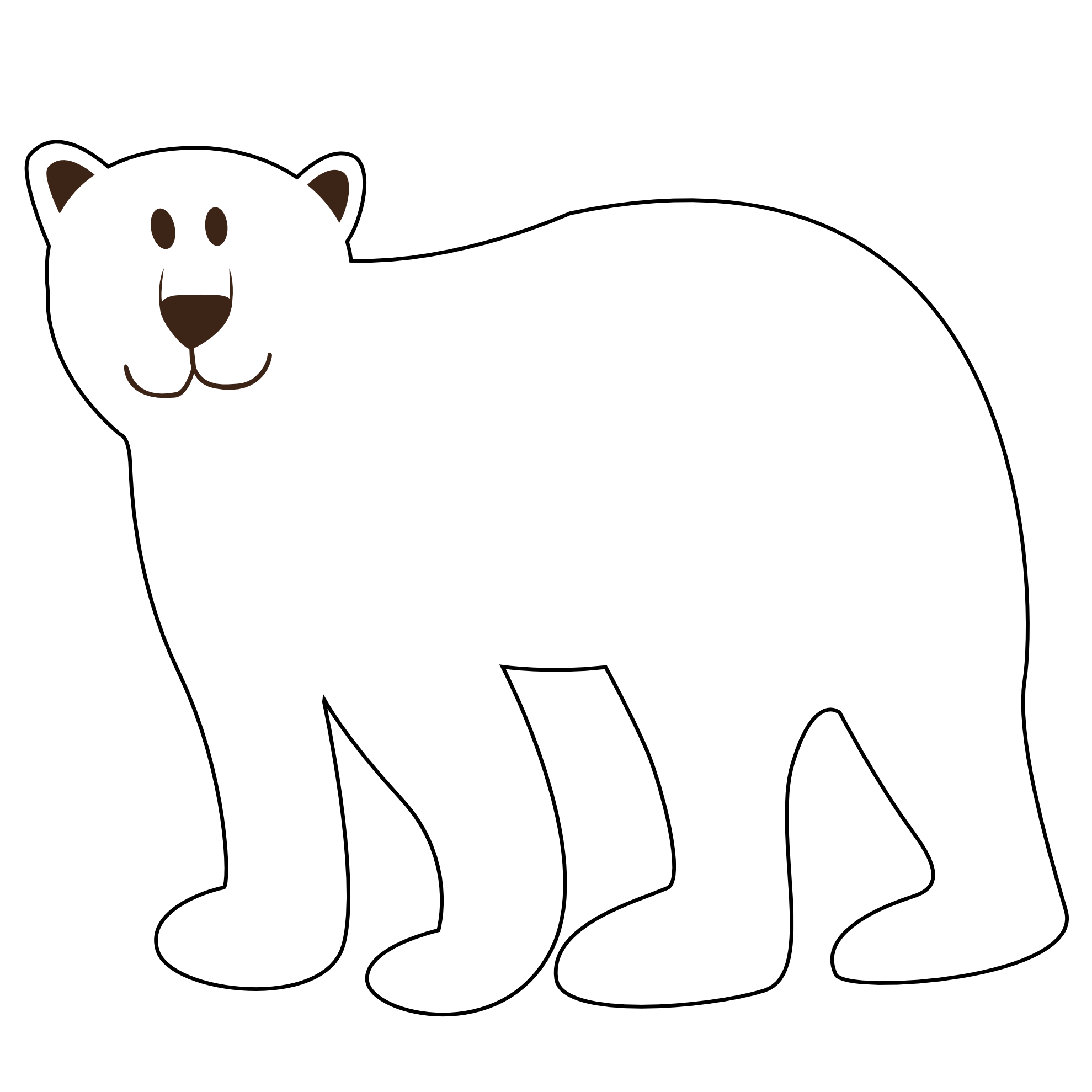 Polar clipart #3, Download drawings