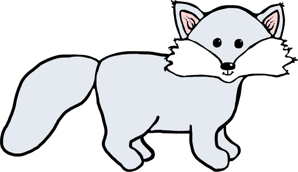 Polar Fox clipart #3, Download drawings