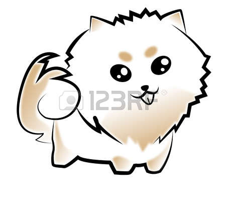 Spitz clipart #7, Download drawings
