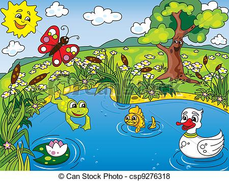 Pond clipart #6, Download drawings