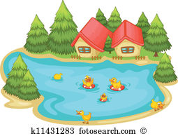 Pond clipart #11, Download drawings