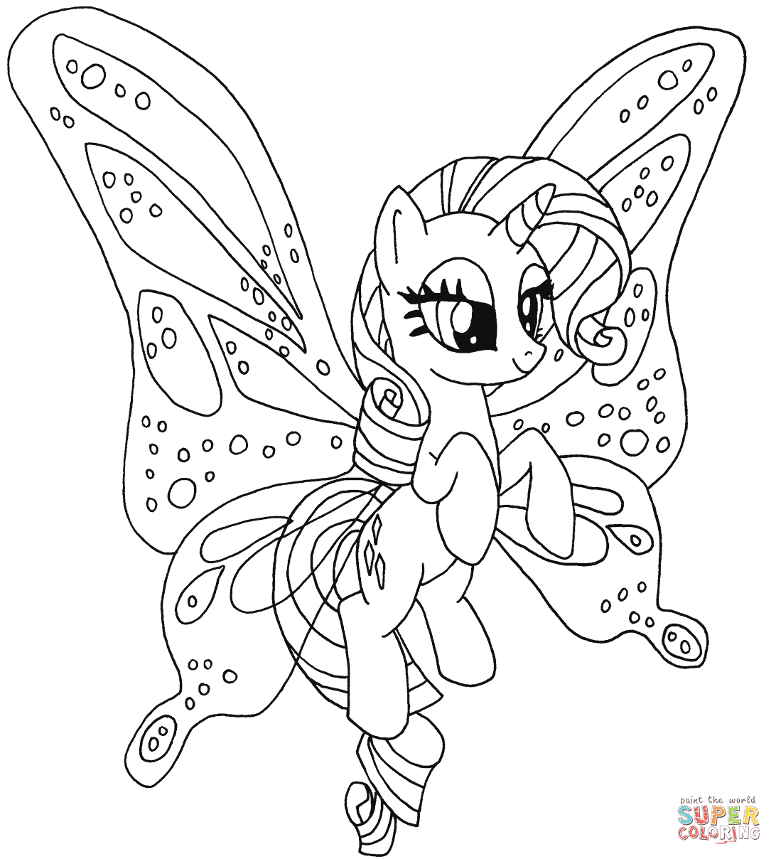 Pony coloring #10, Download drawings