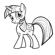 Pony coloring #11, Download drawings