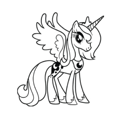 Pony coloring #2, Download drawings