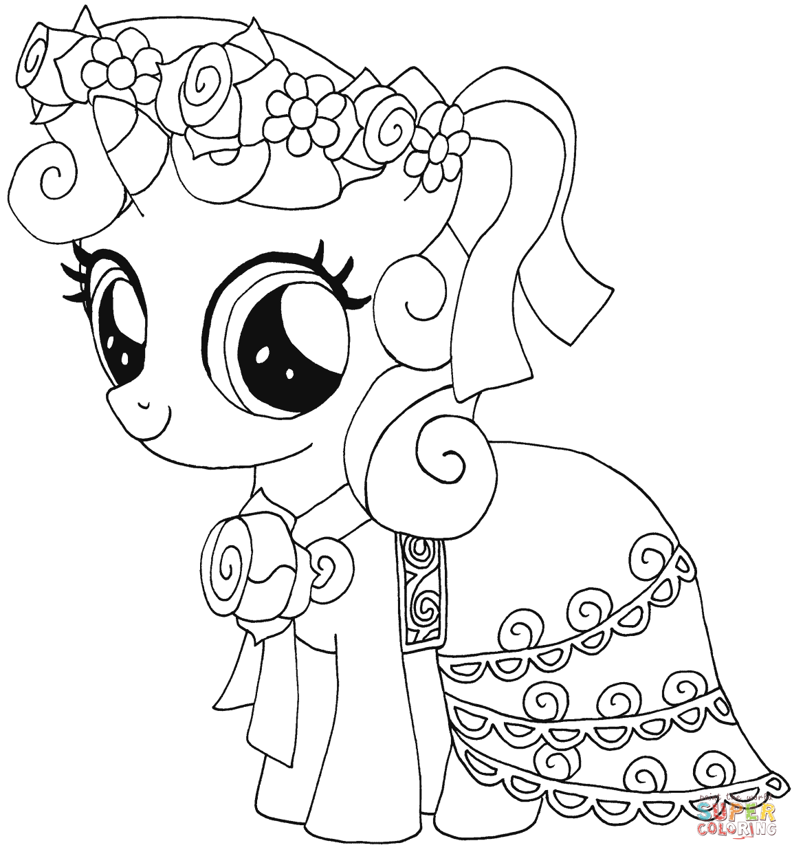 Pony coloring #8, Download drawings