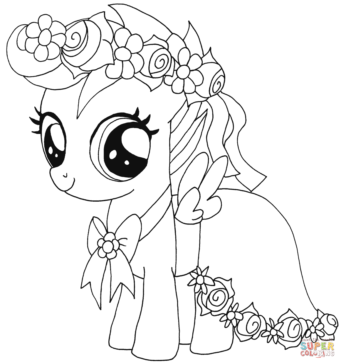 Pony coloring #9, Download drawings