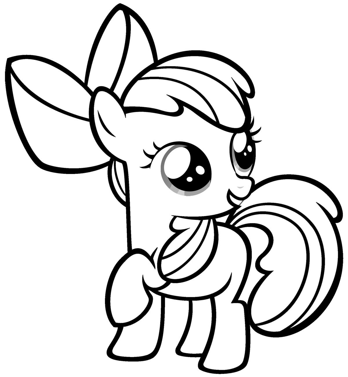 Pony coloring #13, Download drawings