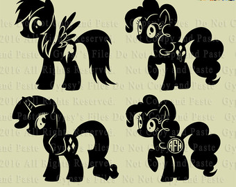 Pony svg #12, Download drawings
