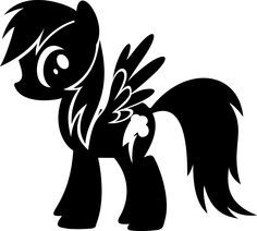 Fluttershy (My Little Pony) svg #19, Download drawings