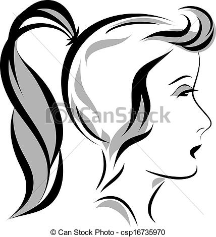 Ponytail clipart #13, Download drawings