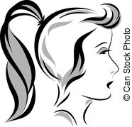 Ponytail clipart #9, Download drawings
