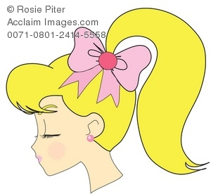 Ponytail clipart #18, Download drawings