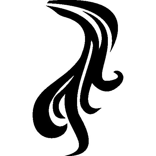 Ponytail svg #20, Download drawings