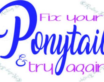 Ponytail svg #11, Download drawings
