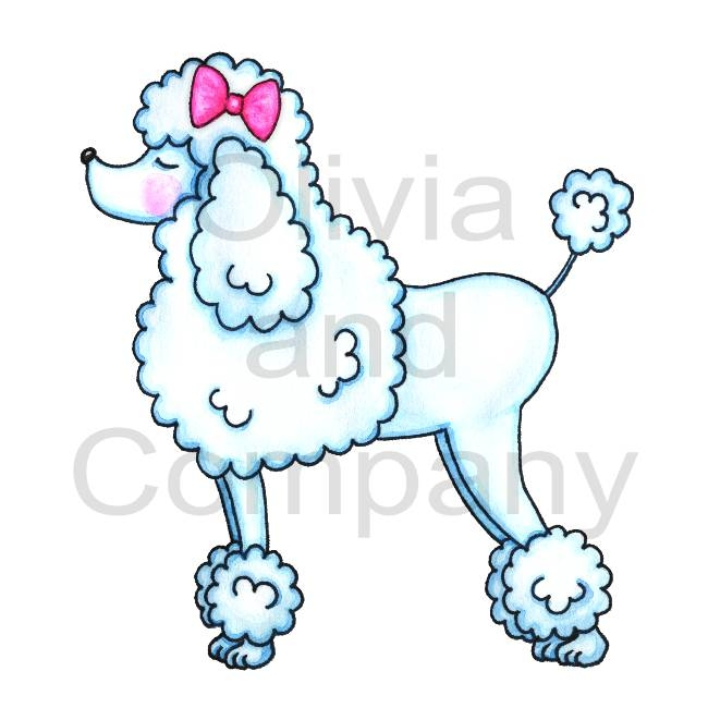 Poodle clipart #3, Download drawings
