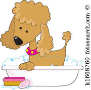 Poodle clipart #12, Download drawings