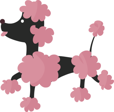 Poodle clipart #2, Download drawings