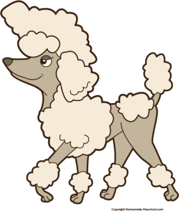 Poodle clipart #1, Download drawings