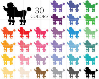 Poodle clipart #4, Download drawings