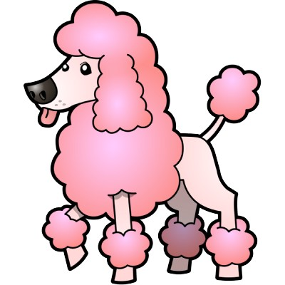 Poodle clipart #6, Download drawings