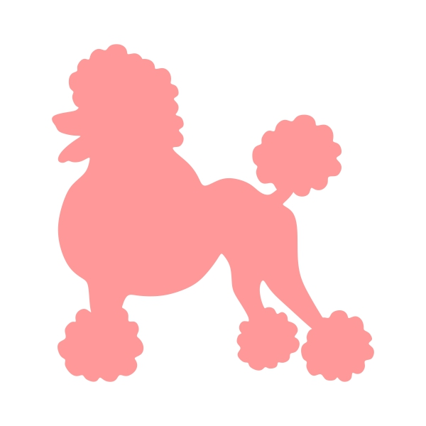 Poodle svg #392, Download drawings