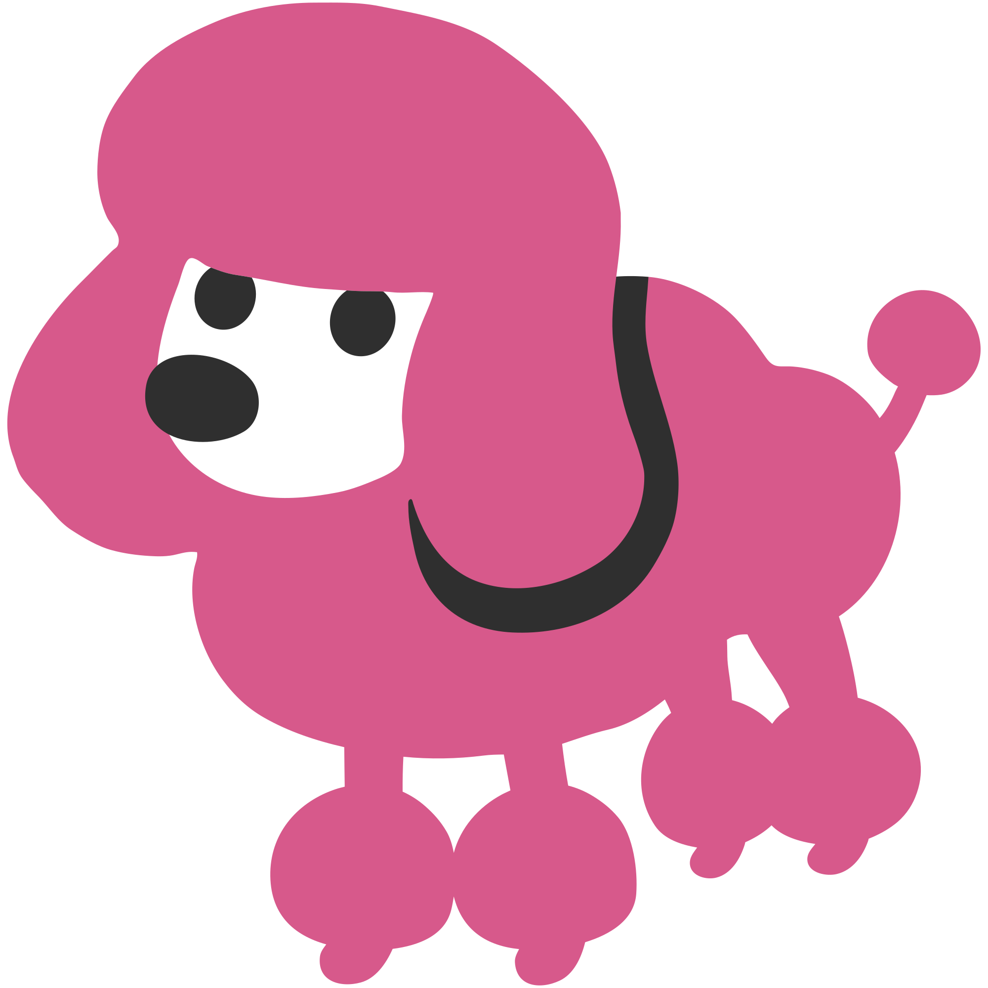 Poodle svg #401, Download drawings