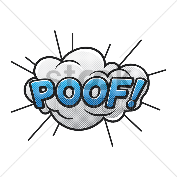 Poof clipart #2, Download drawings