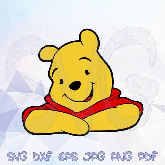 pooh svg #1077, Download drawings