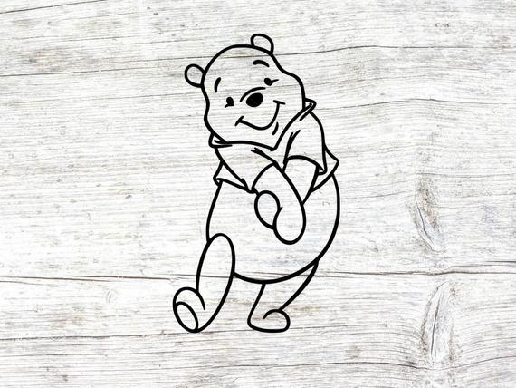 pooh svg #1064, Download drawings