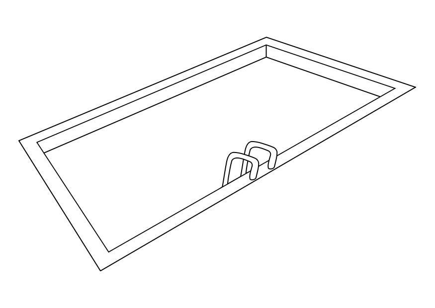 Pool coloring #18, Download drawings
