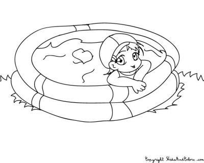 Pool coloring #6, Download drawings