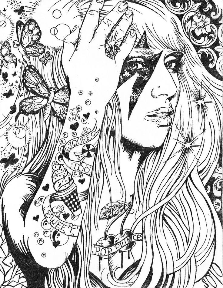 Pop Music coloring #3, Download drawings