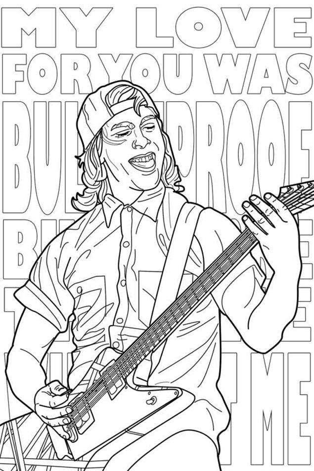 Pop Music coloring #7, Download drawings