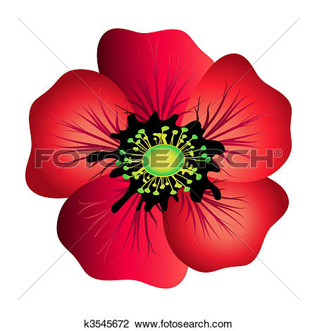 Poppy clipart #3, Download drawings