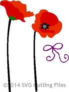 Poppy svg #11, Download drawings