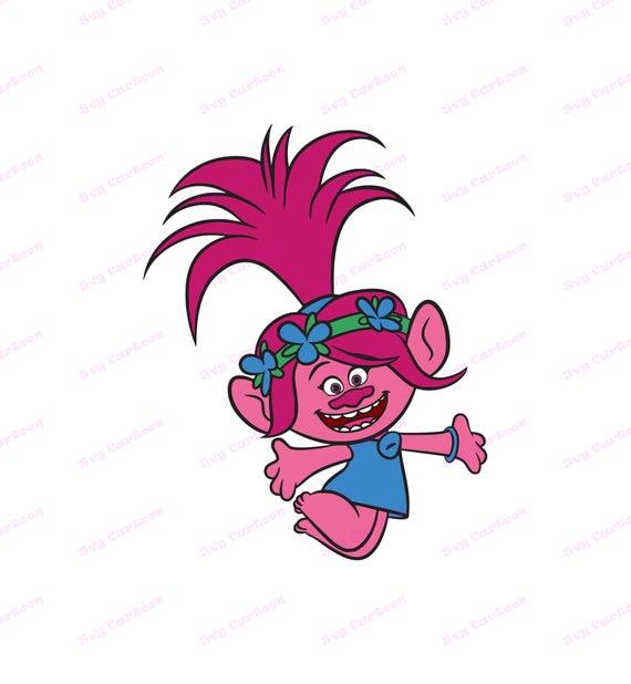 poppy troll svg #1012, Download drawings