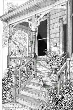 Porch coloring #19, Download drawings