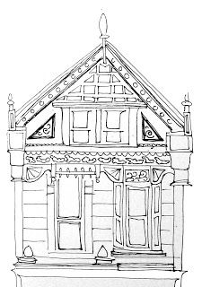 Porch coloring #3, Download drawings