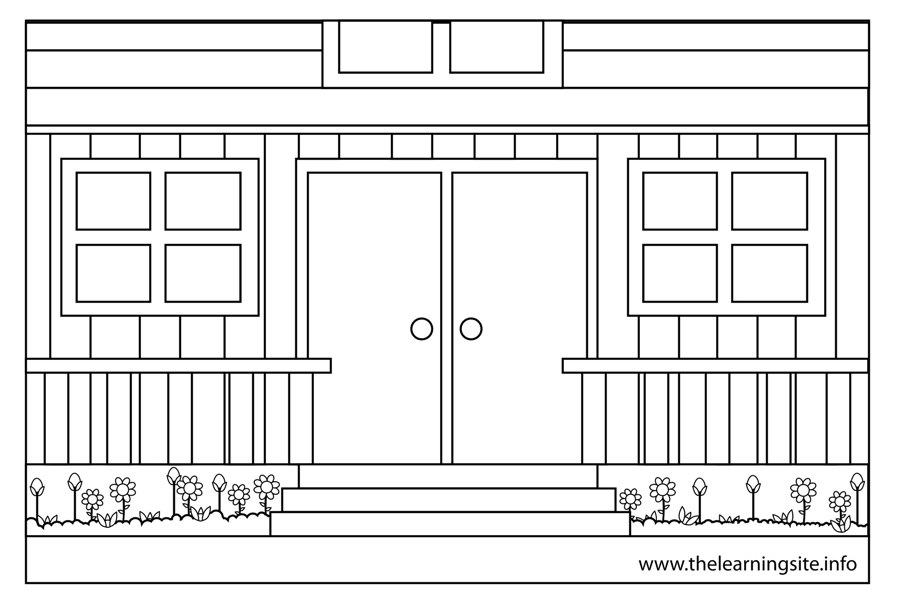 Porch coloring #4, Download drawings
