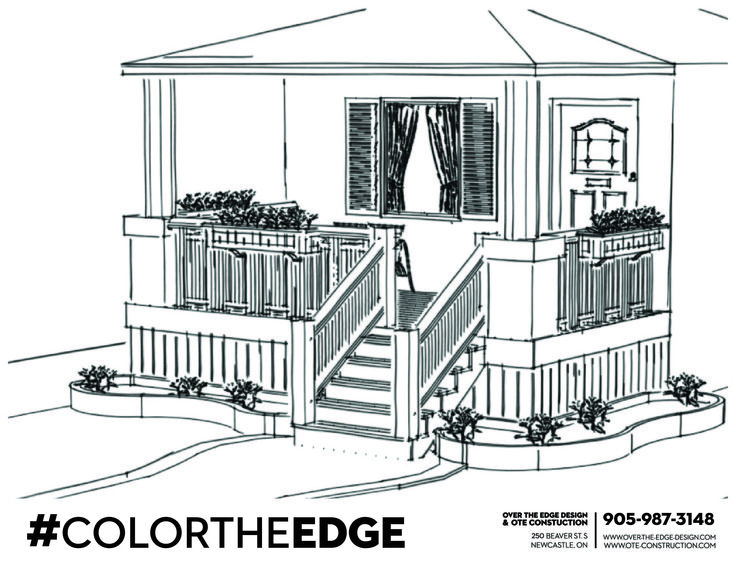 Porch coloring #5, Download drawings