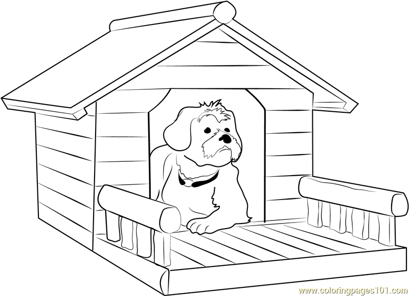 Porch coloring #16, Download drawings