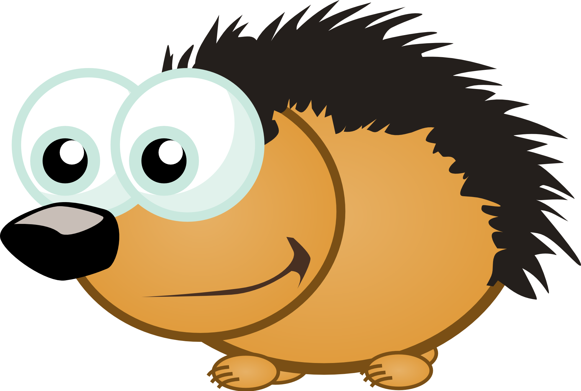 Porcupine clipart #9, Download drawings