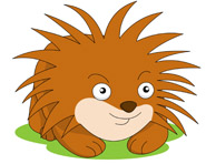 Porcupine clipart #1, Download drawings