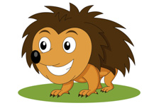 Porcupine clipart #4, Download drawings