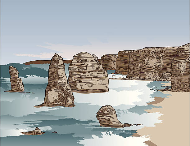 Port Campbell National Park clipart #8, Download drawings